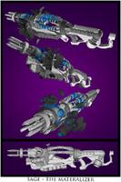 sage gun future 3d dwg